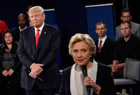 Town Hall presidential debate, Oct. 9, 2016