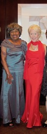 With American Academy of Nursing fellow inductee Dr. Mary Lou Adams in 2011.